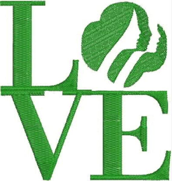 Love Girl Scout Symbol Symbols Free Download