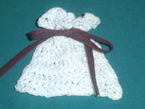 Crochet Sachet Bags : Crochet Sachet Bag - Reusable Sachet Bag - Soap Saver Bag - Purple ...