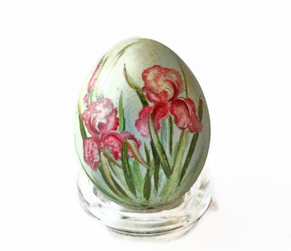 Hand Painted Eggs, blown chicken egg
