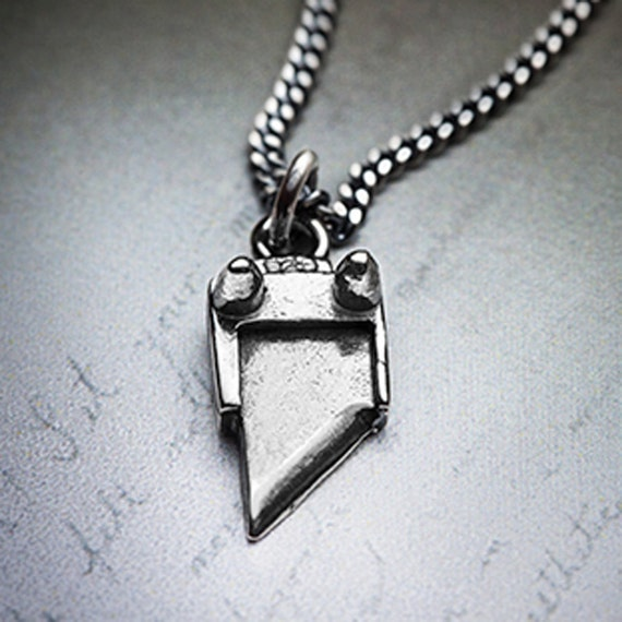 Tiny But Deadly GUILLOTINE necklace