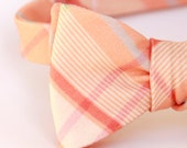 sweet peach bow tie