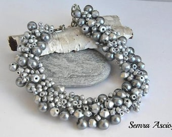 Handmade Weddings Silver Necklace