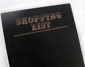 Shopping List Chalkboard  - Item 1506
