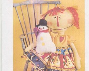 Let It Snow Primitive Doll Pattern