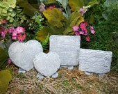 Custom Fairy Garden Sign with Stand - You Choose Shape & Saying