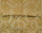Beacon Hill Camel Yala Tulip Floral Silk Designer Fabric Sample Osborne Little