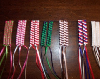 1980's Ribbon Barrettes