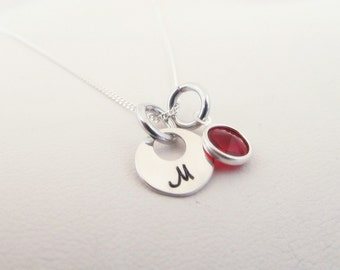 Personalized Tiny Initial Necklace