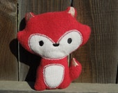 Red Plush Woodland Fox Softie