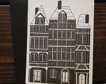 House Card - Letterpress