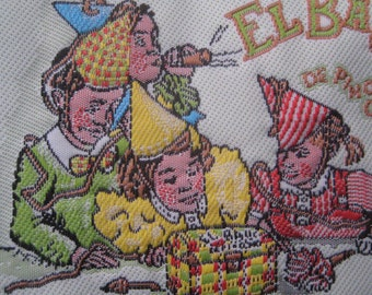 2 Woven Fabric Labels From Europe For Scrapbooking Card Making Sewing Projects