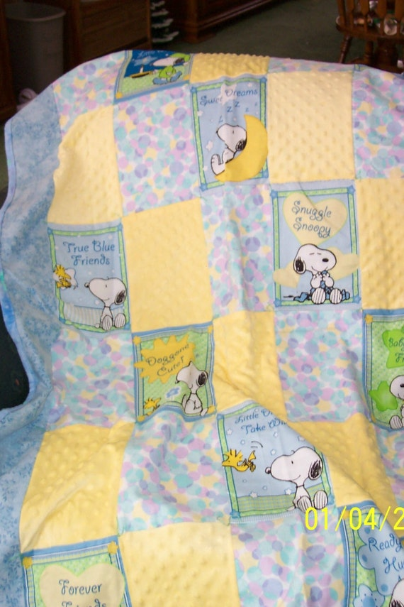 Snoopy Baby Quilt