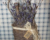 Primitive Spring Hanging Basket  CLEARANCE  WAS 14.95  NOW 10.00