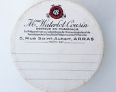 Vintage pharmacist's container