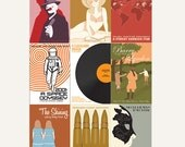 Movie posters Kubrick Collection set of nine 12 x 18 inches prints: save 10%