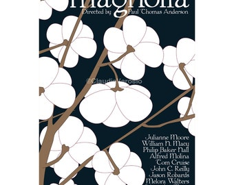 Movie poster print Magnolia 12x18 inches