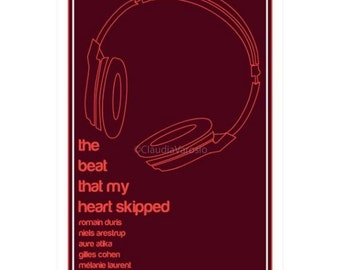 Movie poster The Beat That My Heart Skipped 12x18 inches print