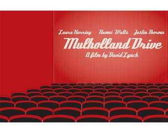 Mulholland Drive movie poster in various sizes