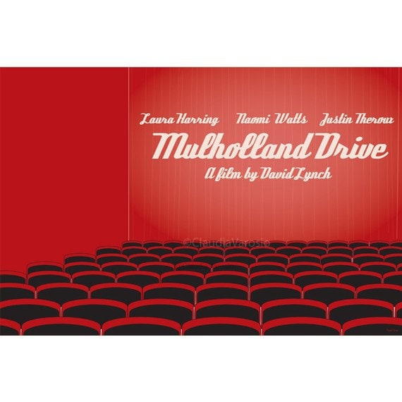 Mulholland Drive 18x12 inches movie poster