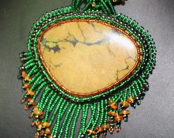 The Eye of Cleopatra OOAK Necklace