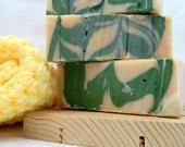 Cucumber Mint Goats Milk Soap SALE