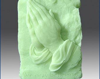 2D Silicone Soap Mold - Faithful Prayers