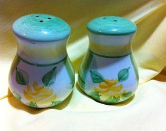 Yellow Flower Salt and Pepper