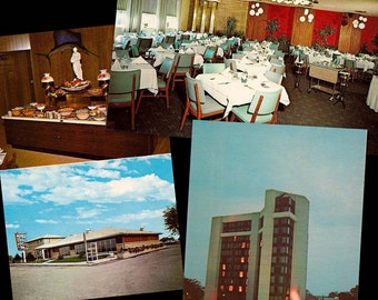 Vintage Travel Postcards - Set of 3