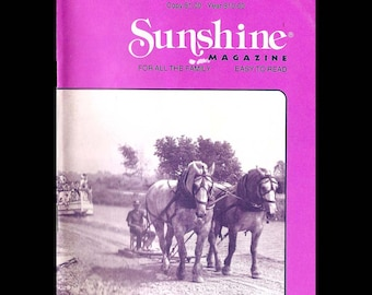 Sunshine - Vintage Magazine c. April 1991
