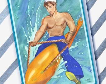 Sailor Pin-up Boy