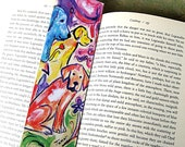 Dog Bookmark - Dog Art