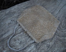 1920s Beaded Purse  / Made in Belgium for Emporium // Seed Beaded 1920s Purse