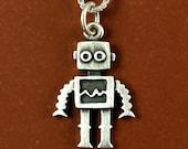 Tiny robot necklace / pendant