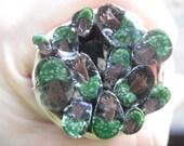 Oak tree murrini COE 33 Borosilicate glass