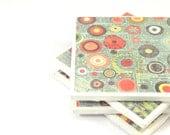 Tile Coasters - Bubbles (Set of 4 Ceramic Tile Coasters)