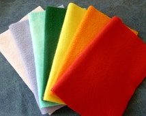 Reusable Swiffer Mop Pads - Rainbow Swiffer Sweeper Cleaning Cloths - 7 Pack - Comes with all natural floor cleaning recipe