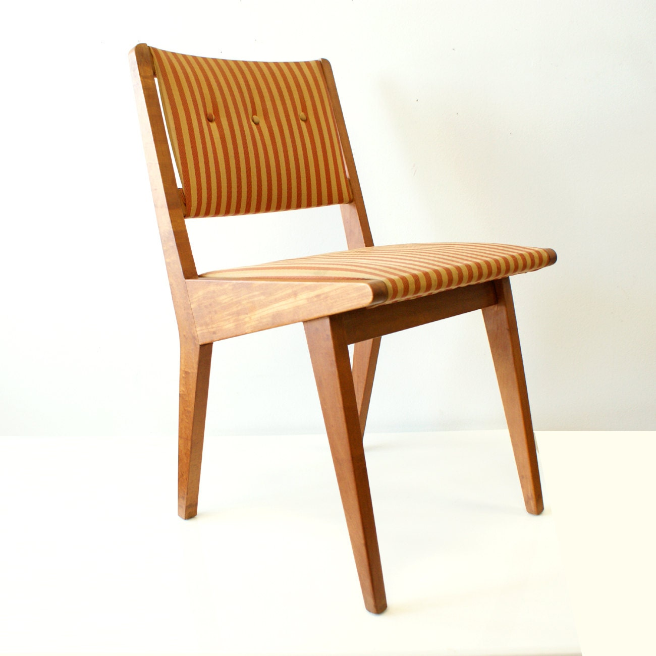 Jens risom chair with early knoll associates label mid for Knoll and associates