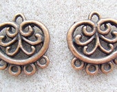 Finding, Copper,  Chandelier, Earring, Bracelet, Station, 4 Strand,End bar, Spacer