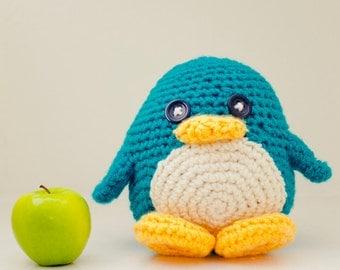Huggable Penguin (choose your color)