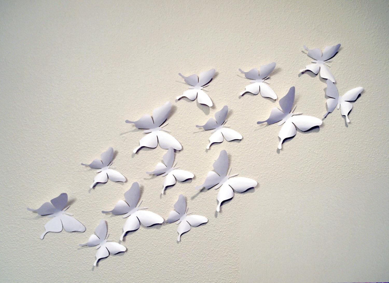 Butterfly Wall Art Purple