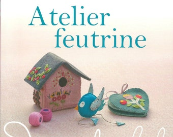 New Book Atelier Feutrine 64 pages