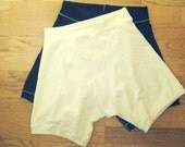 organic For the Guys- elastic free boxer briefs COLOR OPTIONS (stretchy hemp and organic cotton)