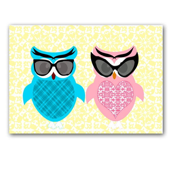 3D lovers Owl - Mr and Mrs Braston are 3D lovers, owl nursery decor, nursery decoration ideas, baby nursery decor