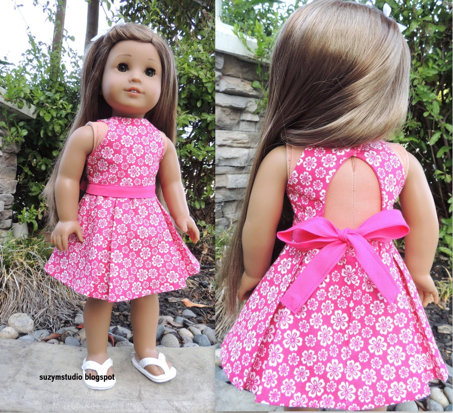 Lana Top And Skirt Agd Size Doll Clothes Pdf Pattern For 18