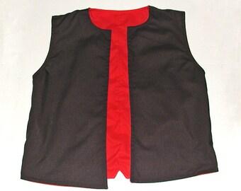 Reversible Boys Lined Vest