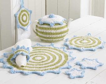 Wintery Kitchen Set Crochet Pattern PDF