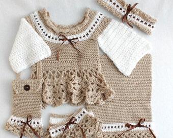 Victoria Ensemble Crochet Pattern PDF