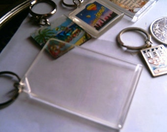 Key Chain Lot Crafting Supplies