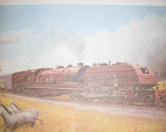 Color Train Print