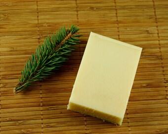 Lavender Cypress Shampoo Soap Bar  - Natural Shampoo with Essential Oils